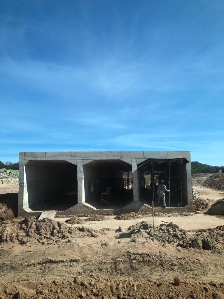 Mais imagens do empreendimento mostram a fase da obra (Foto: Ascom)