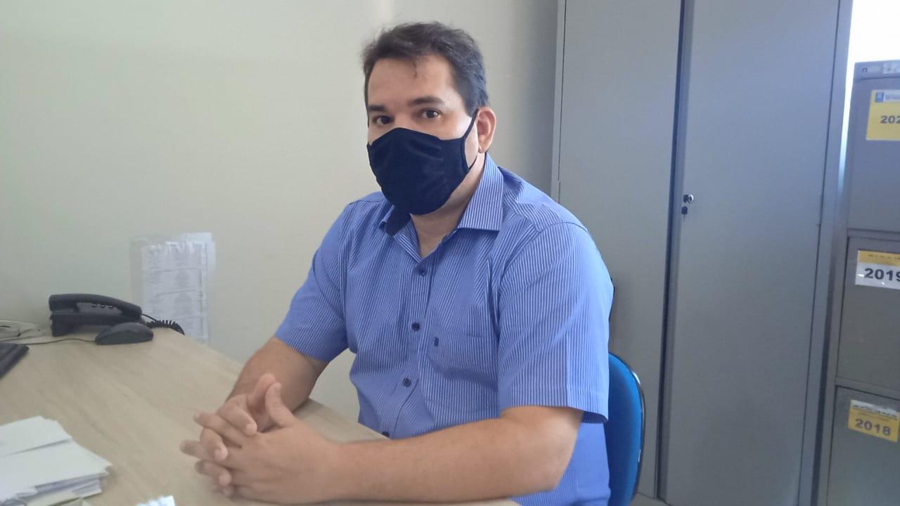 Gerente de Gestão de Trânsito da Strans, Daniel Araújo Foto(Ascom/FMS)