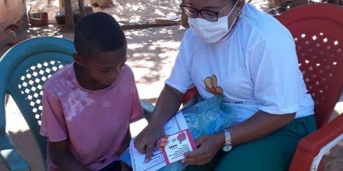 Crianças de Cajazeiras do Piauí  recebem atividades do SCFV