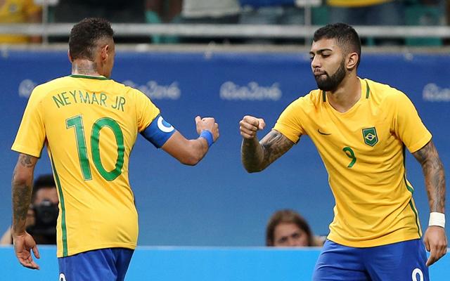 Neymar e Gabigol poderão jogar pelas eliminatória da seleção brasileira- Foto: Divulgação