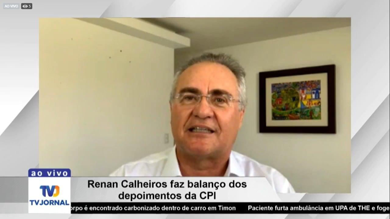 Renan Calheiros diz que há provas que Pazuello mentiu