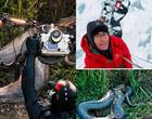 Fotógrafo suíço fala da sensação de fotografar sucuris gigantes no MS