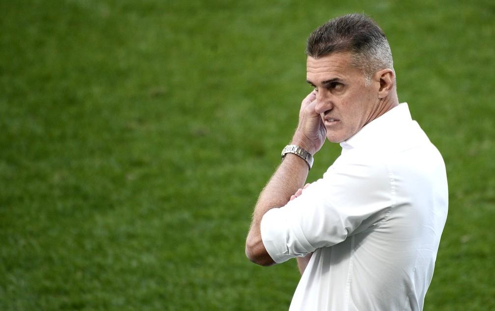Técnico Vagner Mancini é demitido do Corinthians — Foto: Marcos Ribolli