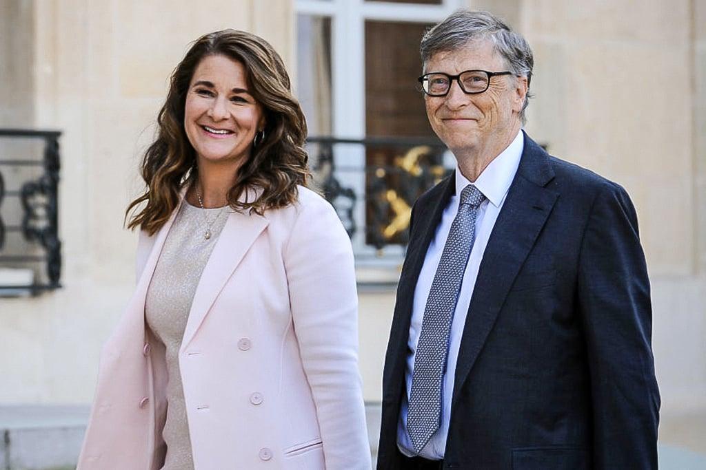 Melinda e Bill Gates - Foto: Frederic Stevens/Getty Images