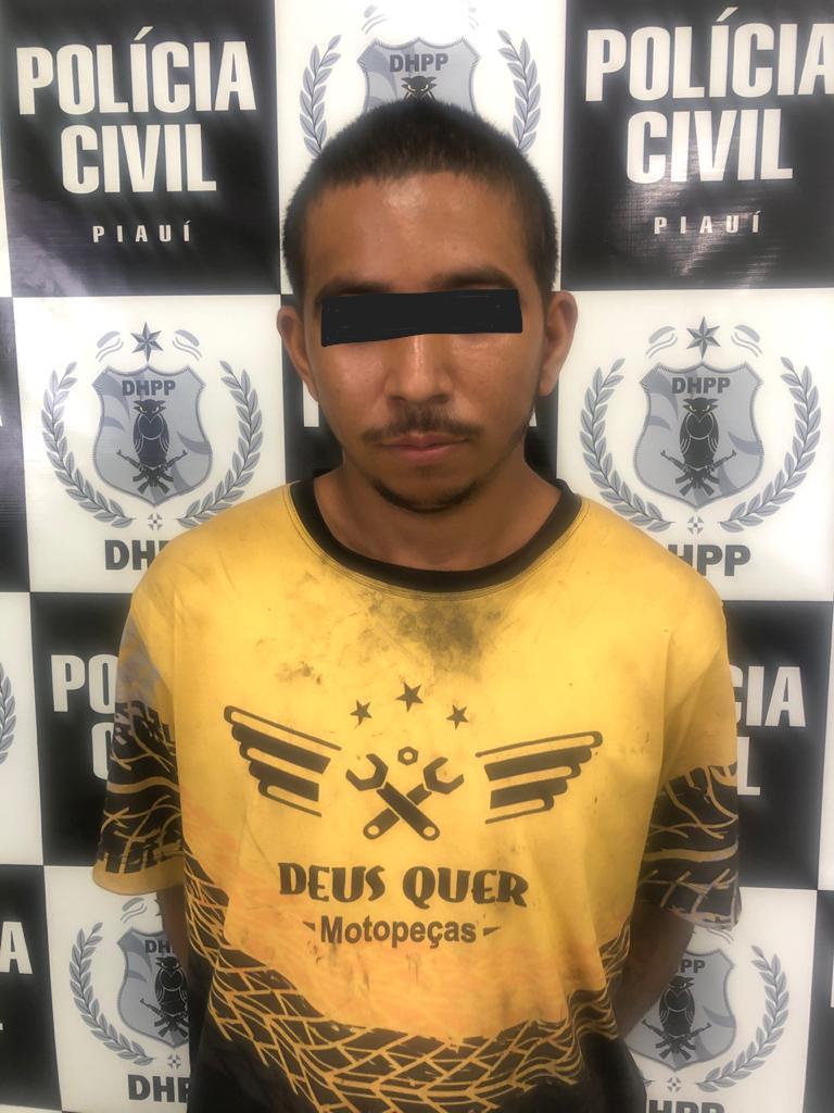 Acusado de matar Francisco Anderson no bairro Todos os Santos - Foto: Divulgação / PC-PI