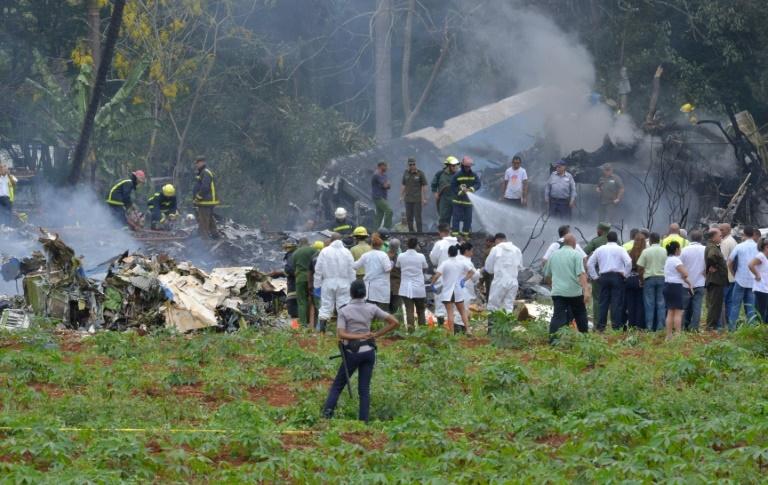 Avião caiu logo após decolar em Havana