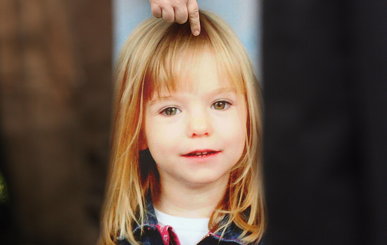 Madeleine, a garota britânica, de então três anos, foi raptada de um hotel em Portugal em 2007- Foto: Peter Macdiarmid- Getty Images