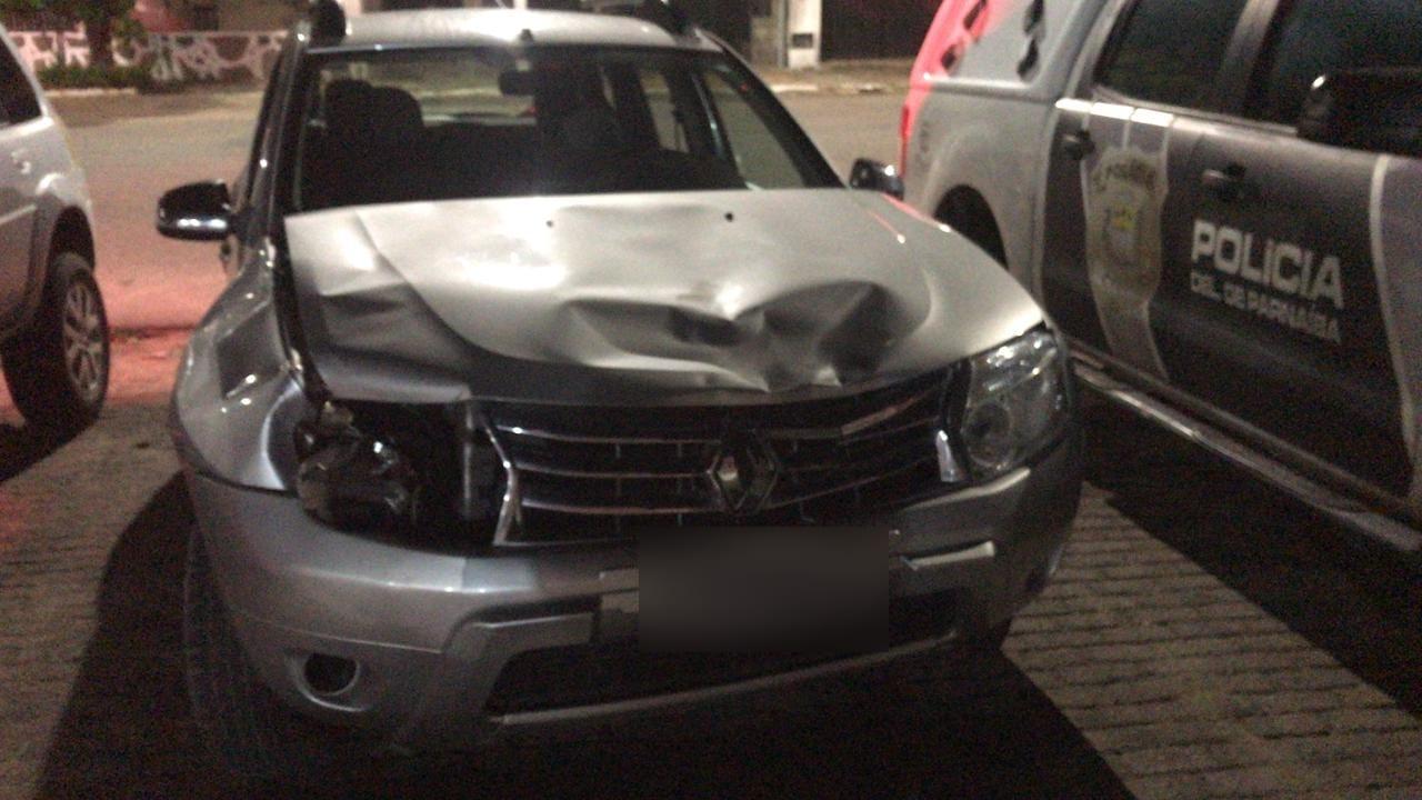 Motorista que atropelou mulheres durante caminhada da BR-343 é presa em Luís Correia (Foto: Ascom/PRF)
