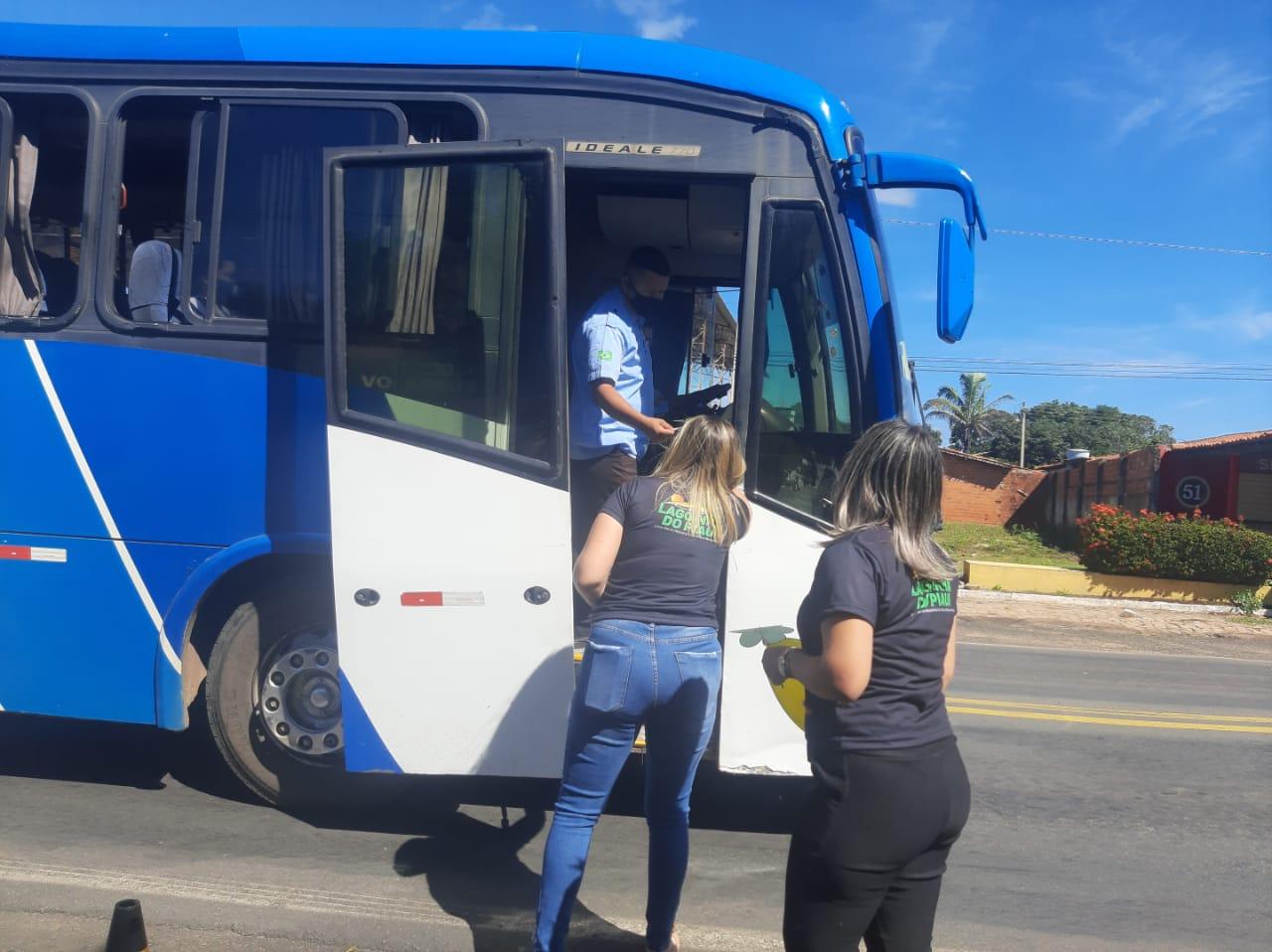 Prefeitura de Lagoinha CRAS e Conselho Tutelar realizaram Blitz Educativa - Imagem 1