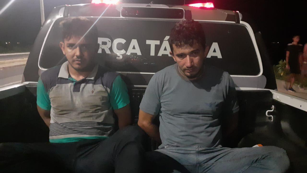 Acusados de participar de assalto na casa de empresário são presos em Teresina (Foto: Divulgação)
