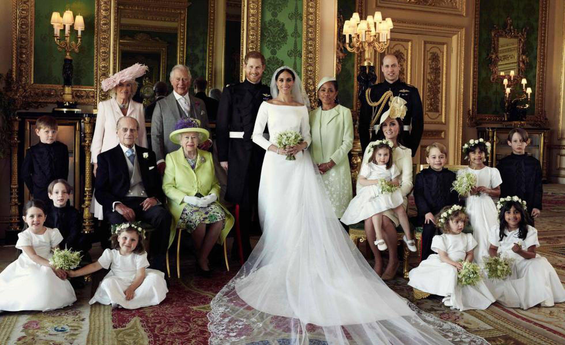 Casamento de Harry e Meghan foi um evento que ocorreu em 19 de maio de 2018 - Foto: Alexi Lubomirski/AFP
