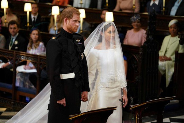 Markle é a primeira pessoa multirracial a se casar com um membro da família - Foto: Dominic Lipinski/Pool via REUTERS