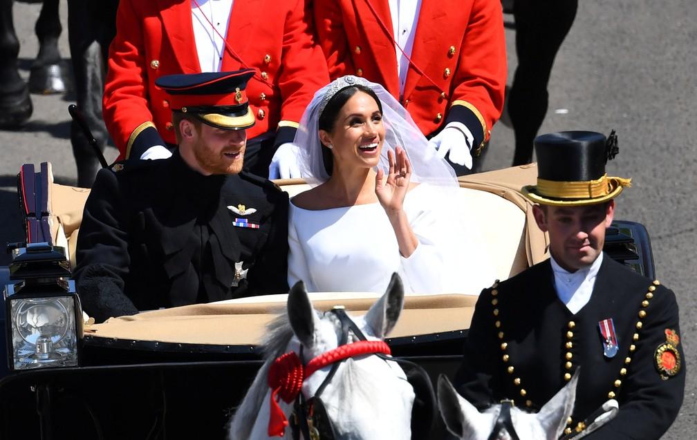 O governo britânico não declarou a data do casamento como feriado - Foto: Dylan Martinez/Reuters