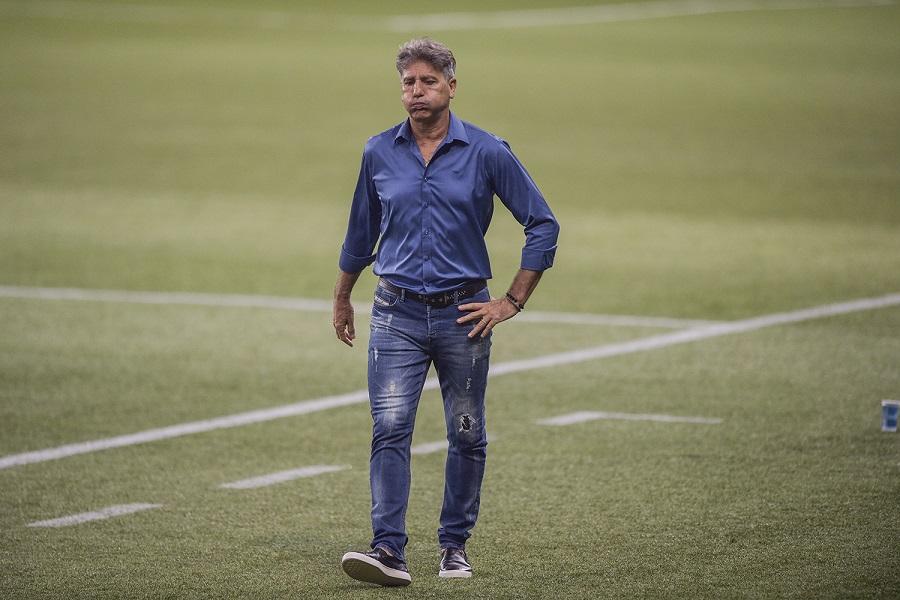 O treinador Renato Gaúcho pode aceitar proposta do Corinthians- Kaio Lakaio/Placar