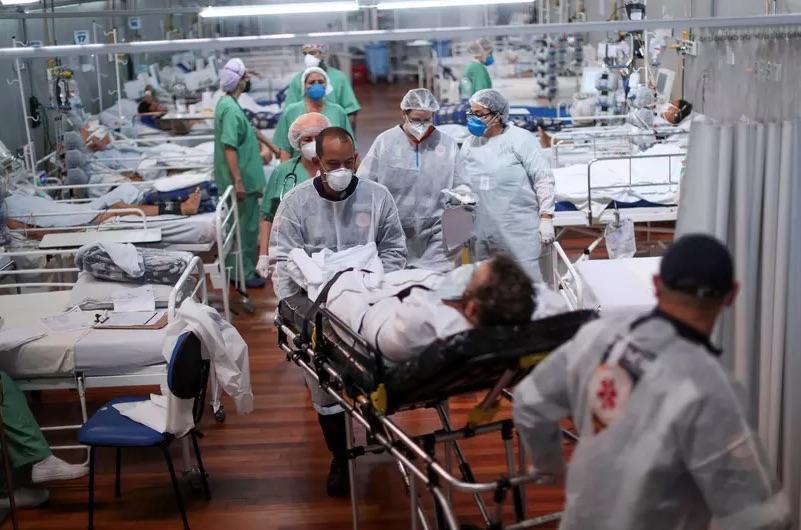 Brasil registrou 1.202 mortes em 24 horas, aponta boletim - Foto: Amanda Perobelli/Reuters