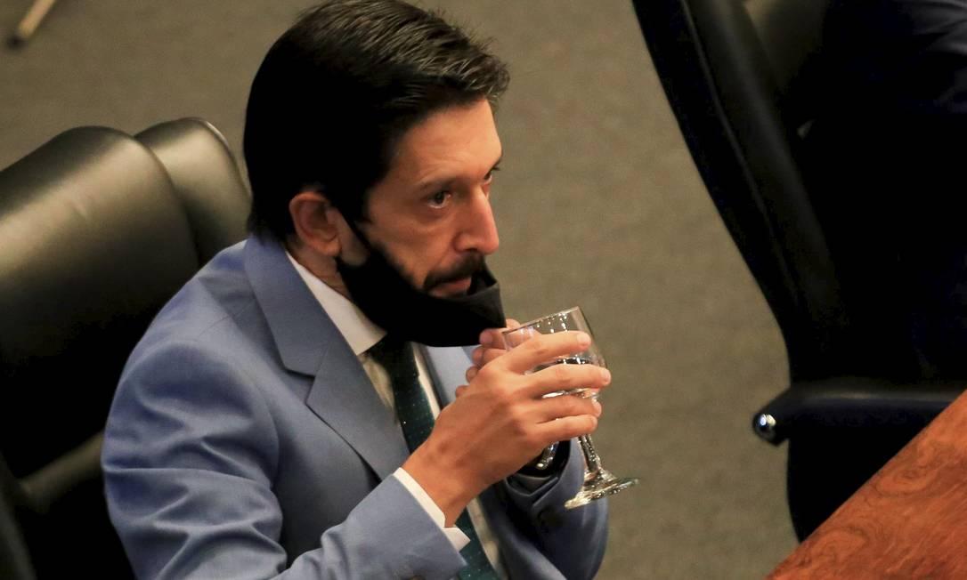 Ricardo Nunes assume a Prefeitura de SP no lugar de Bruno Covas Foto: Alex Falcão/Futura Press