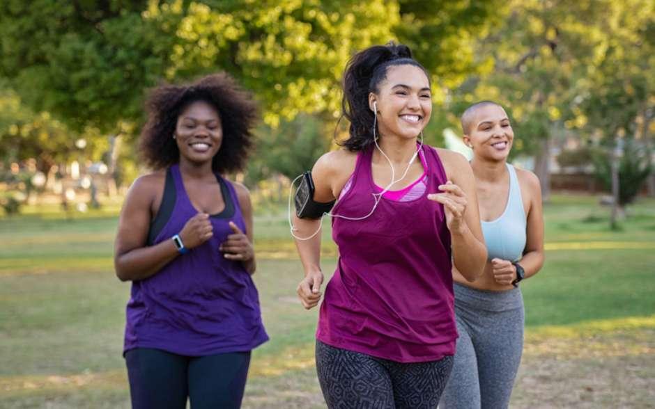 Corrida é uma ótima opção de treino para quem quer perder peso (Foto: Shutterstock)