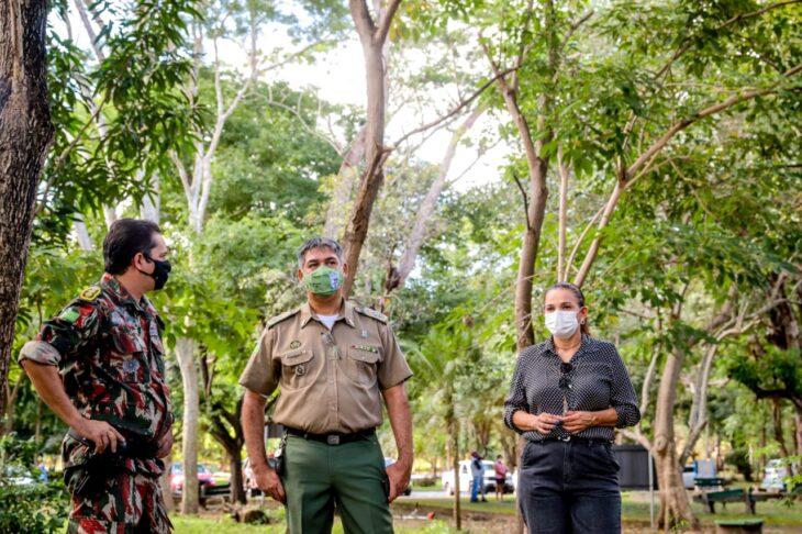 O parque está fechado desde o início da pandemia e deve ser reaberto no início de junho (Foto: Moura Alves)