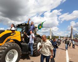 Bolsonaro visita Sul do Piauí e inaugura 'Ponte de Santa Filomena'