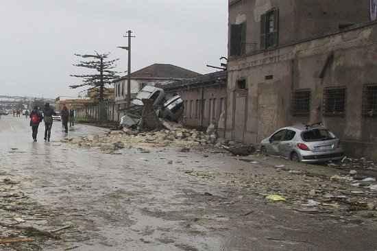 Tremos de 5,9 graus de magnitude foi sentido em várias regiões da Itállia