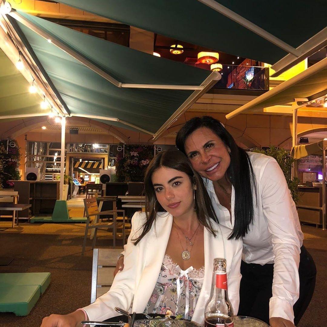 Gretchen e a filha, Giulia MirandaImagem: Reprodução/Instagram