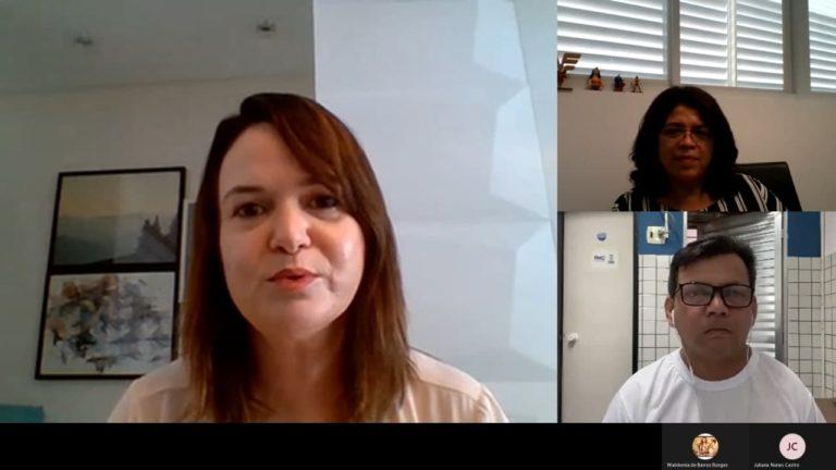 Reunião virtual sobre setor cultural de Teresina (Foto: Divulgação/MP)