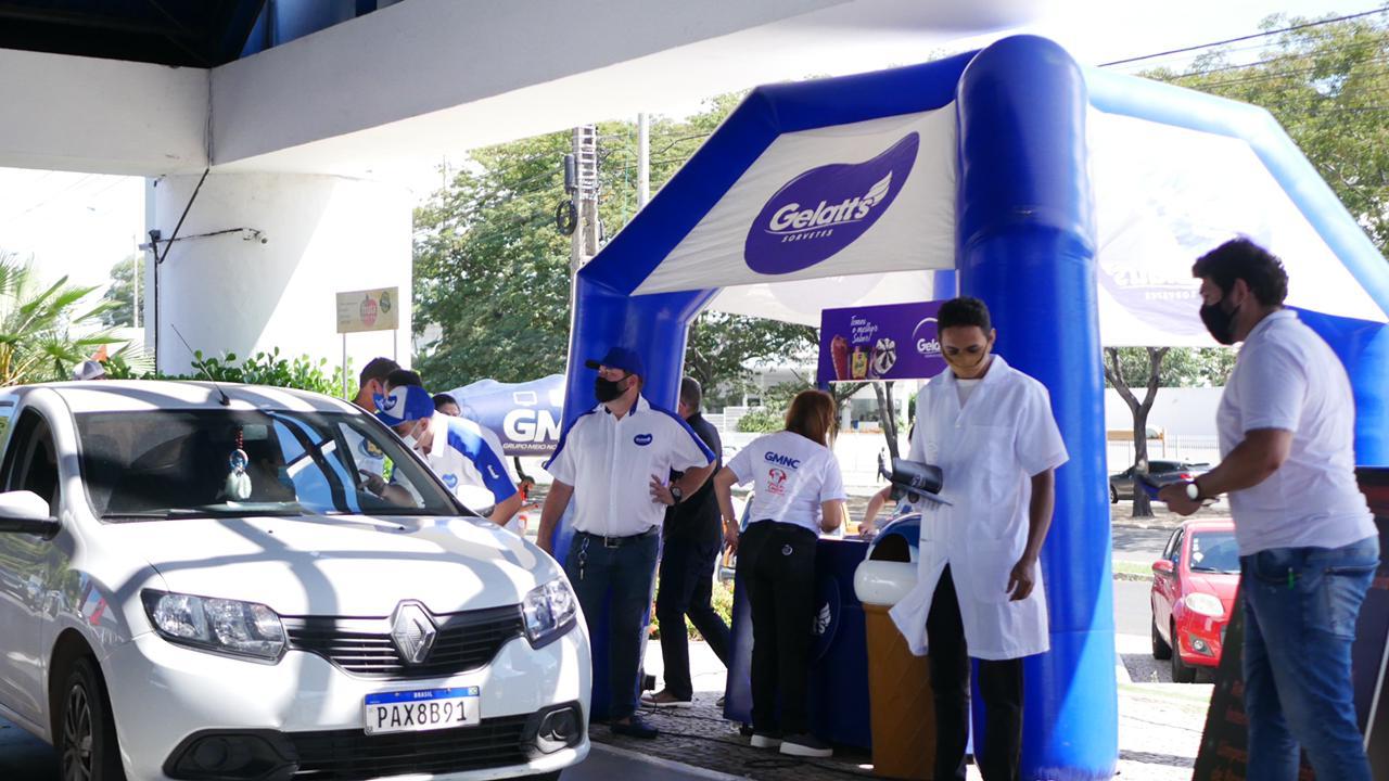 Motoristas e passageiros aprovaram ação realizada pela BOA FM