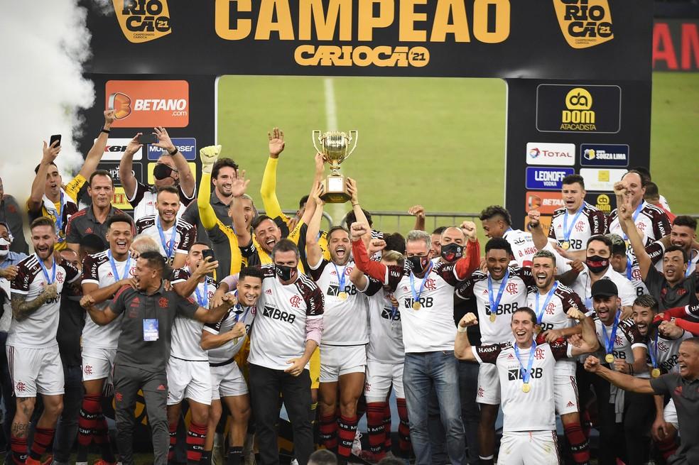Flamengo é campeão carioca pela 37ª vez Foto: André Durão