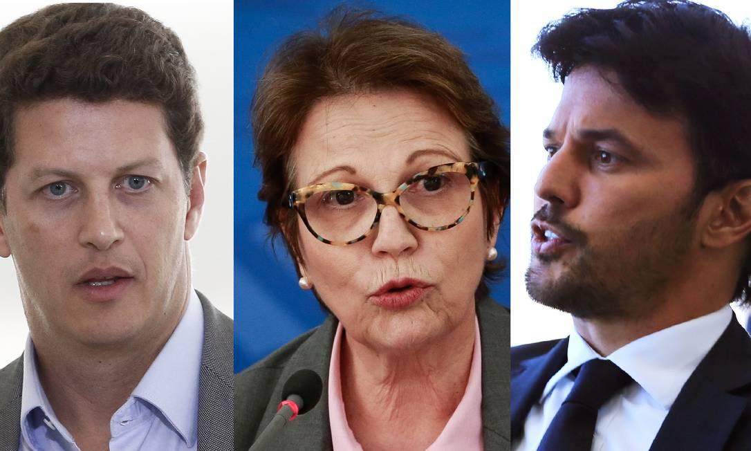 Além de Bolsonaro, o partido mira em mais três ministos do Governo Federal (Fotos de Pablo Jacob e Jorge William)