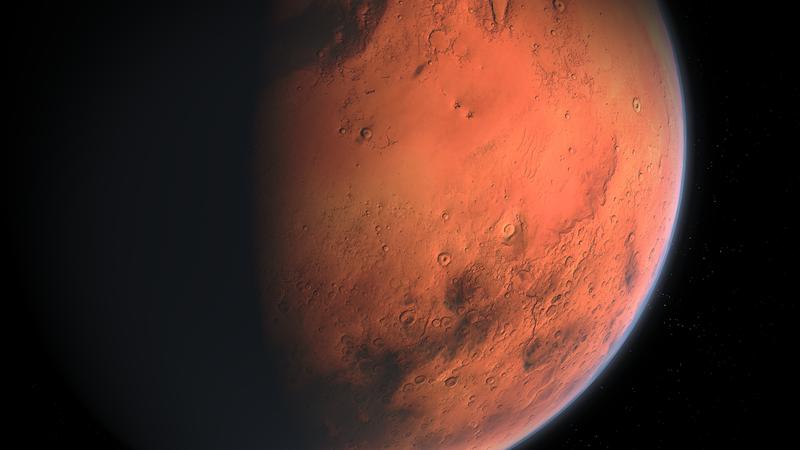 Marte em imagem ilustrativa (Foto: divulgação)