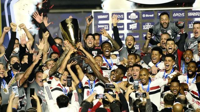 São Paulo campeão Paulista (Foto: Marcos Ribolli)