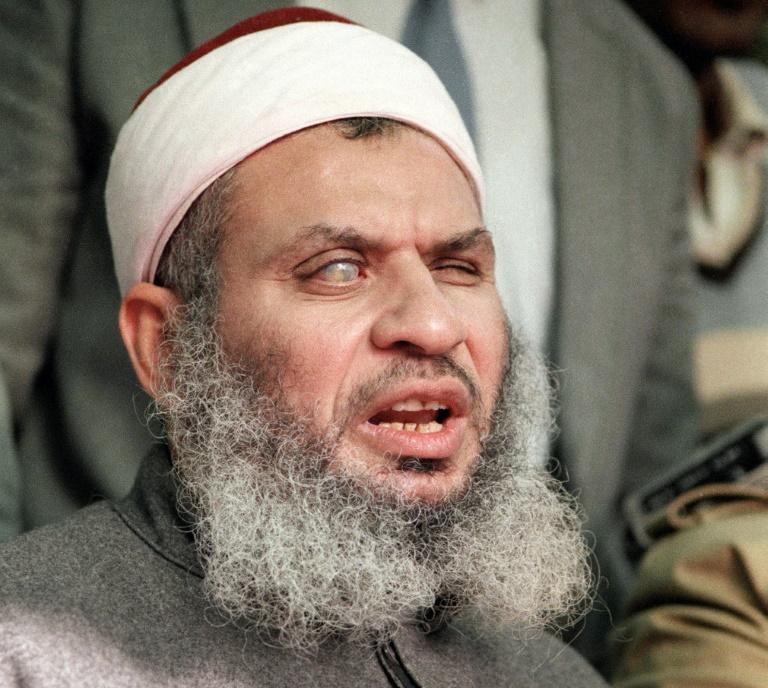 Clérigo mulçumano cego Omar Abdel Rahman - Foto: AFP/Arquivos