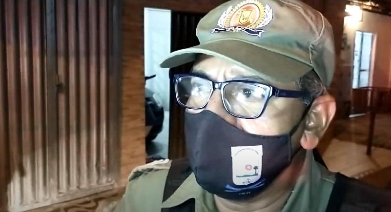 Comandante declara que vítima já tinha passagens por assalto - Foto: Reprodução/Bom Dia MN