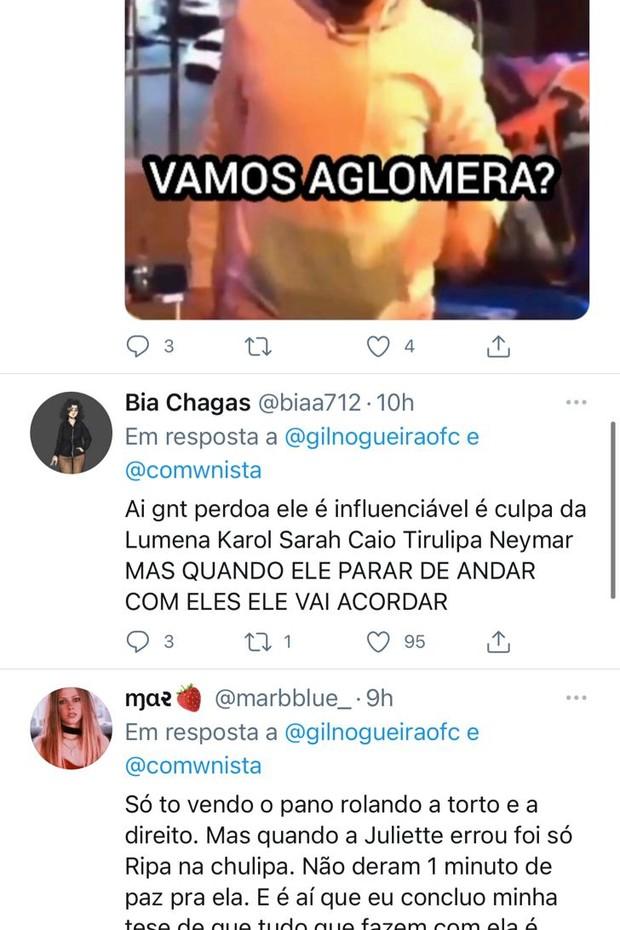 Criticado por jantar com Neymar e mais famosos, ex-BBB Gil se desculpa - Imagem 2