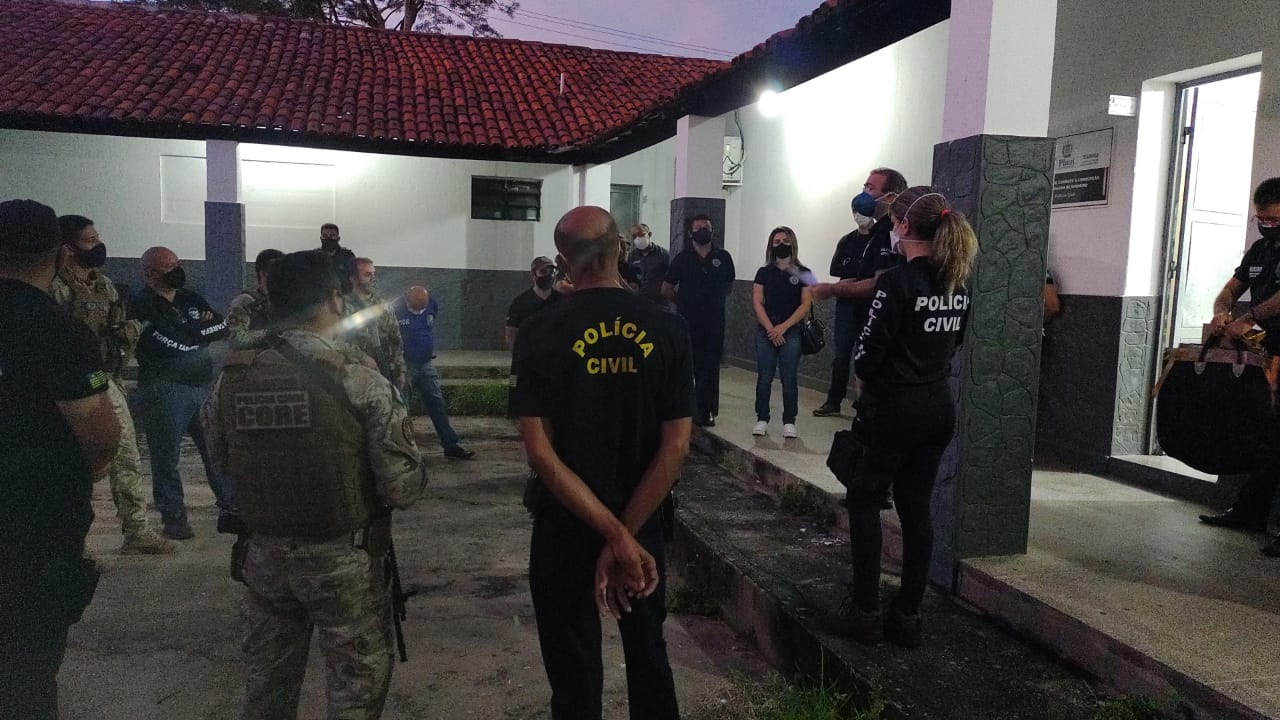 Investigação apontou que empresas alvo da operação possuem ligação entre si - Foto: Divulgação/SSP-PI