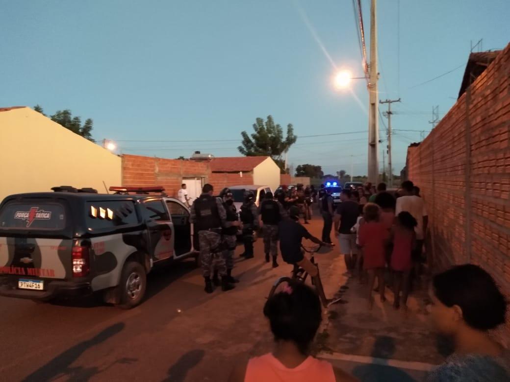Dupla é presa após perseguição policial em Timon (Foto: Reprodução/ WhatsApp)