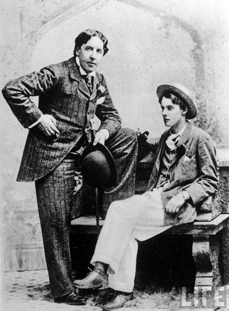 Oscar Wilde teve uma vida conturbada por ser homossexual - Foto: Reprodução