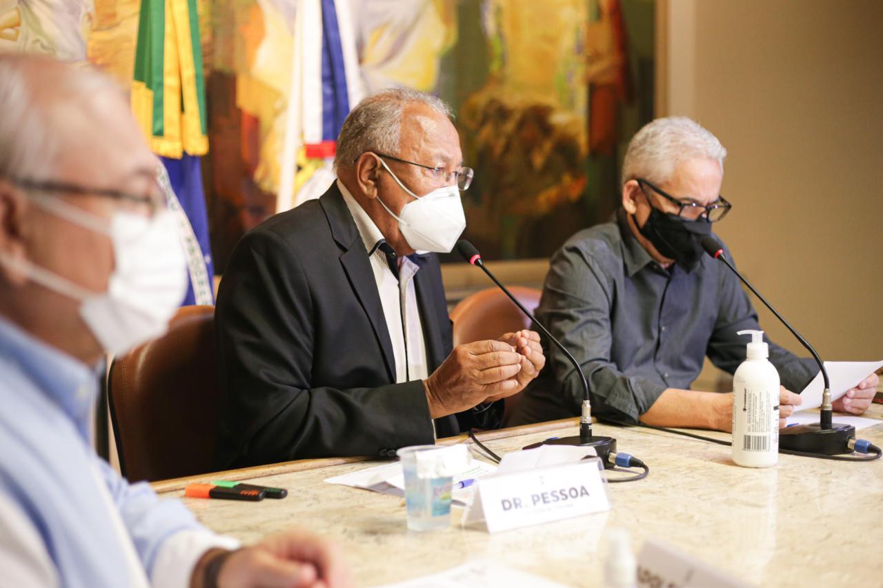 Prefeito de Teresina, Dr. Pessoa, destaca que é preciso se pensar na sustentabilidade - Foto: Rômulo Piauilino