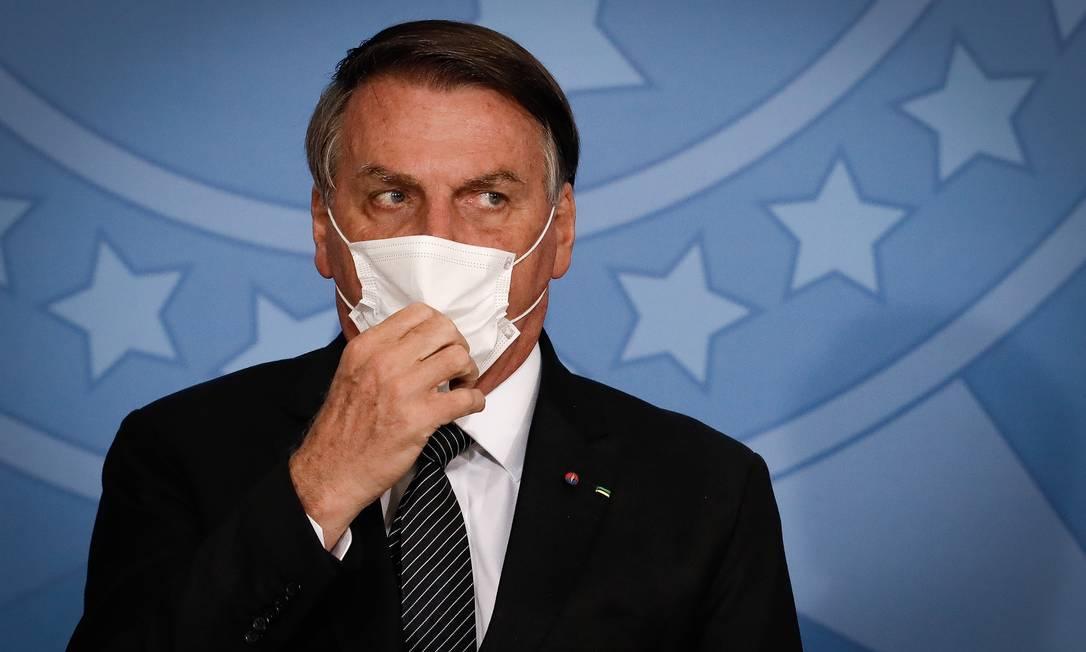 Bolsonaro ingressa com ação para impedir medidas restritivas no país (Foto: Pablo Jacob)