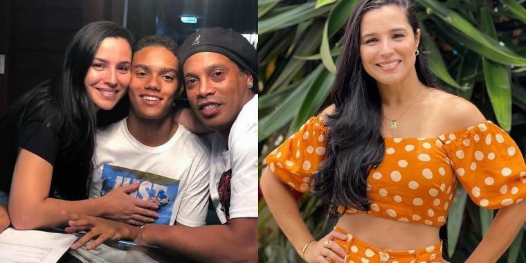Ex bailarina do Faustão, mãe do filho de Ronaldinho Gaúvho faz ensaio