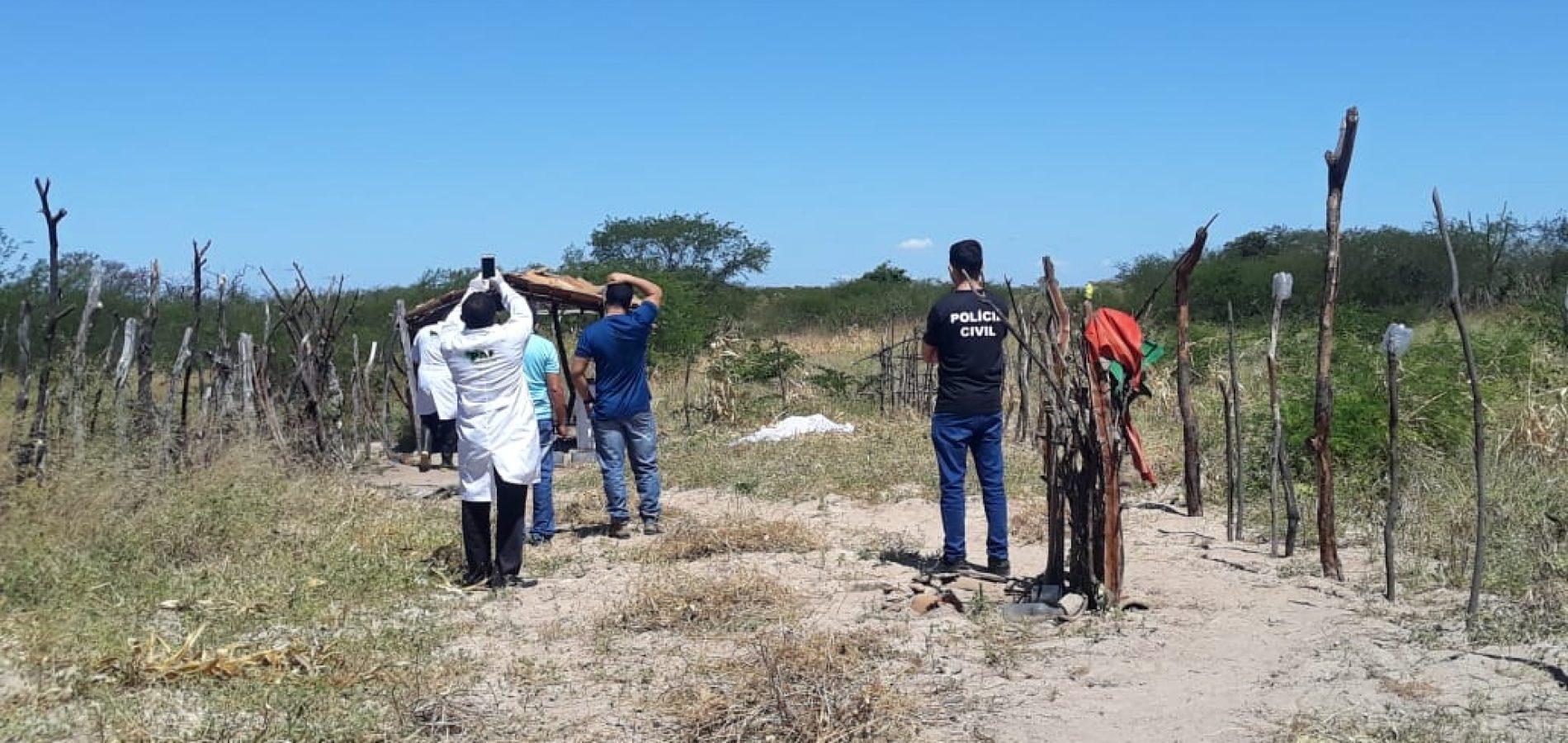 Local que o corpo foi encontrado - Foto: Cidades Na Net