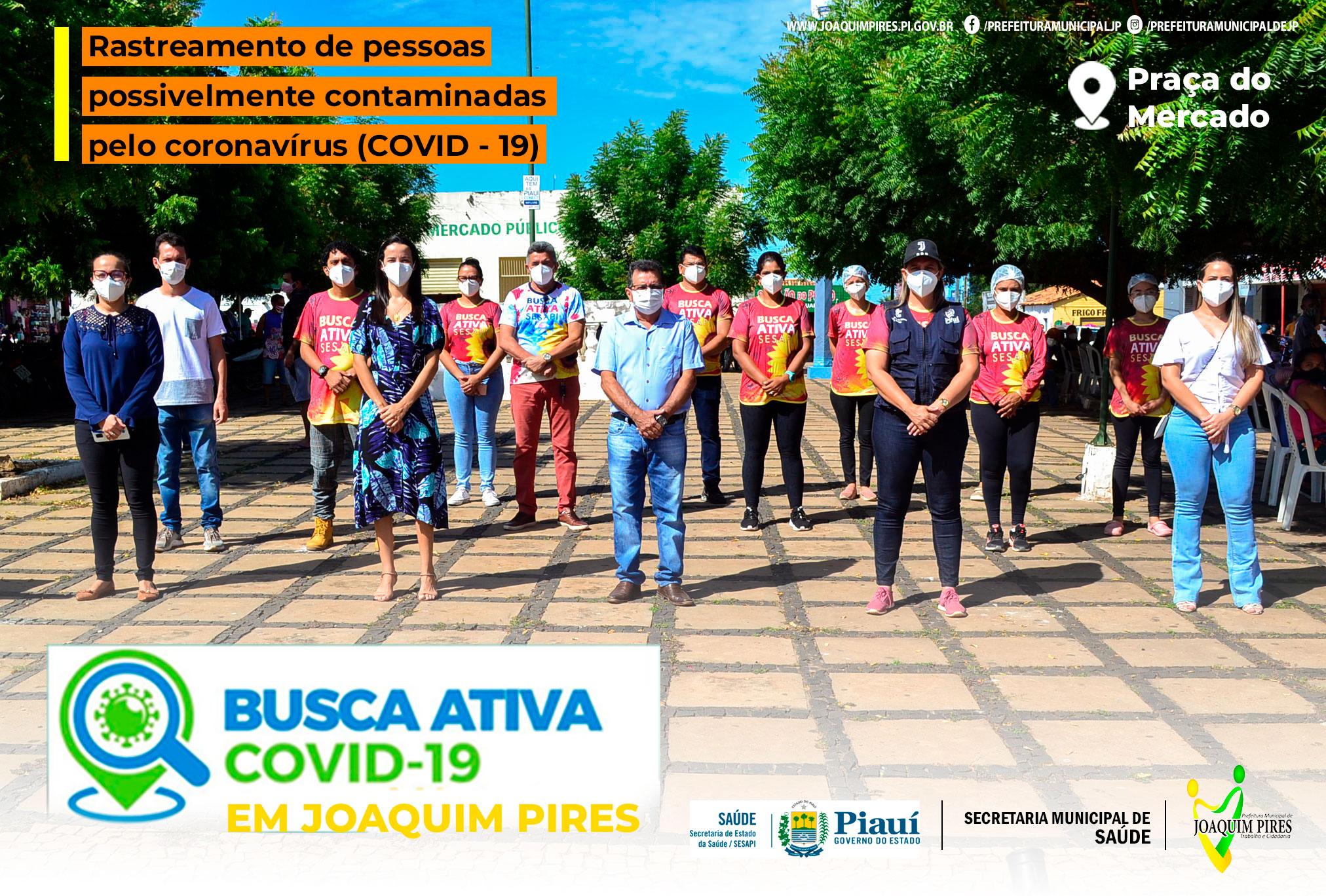Joaquim Pires fortalecendo ações no combate a Pandemia da COVID-19 - Imagem 1