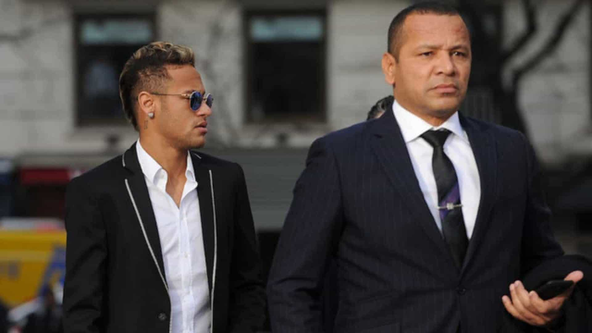 Neymar e seu pai - Foto: Getty Images