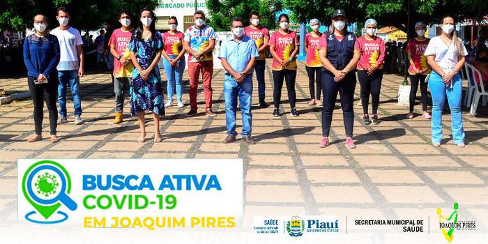 Joaquim Pires fortalecendo ações no combate a Pandemia da COVID-19