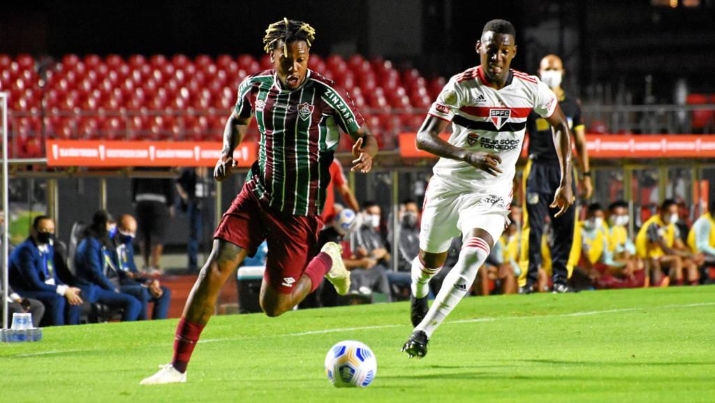 Sâo Paulo e Fluminense ficam no 0 a 0 em estreia no Brasileirão Foto: Mailson Santana