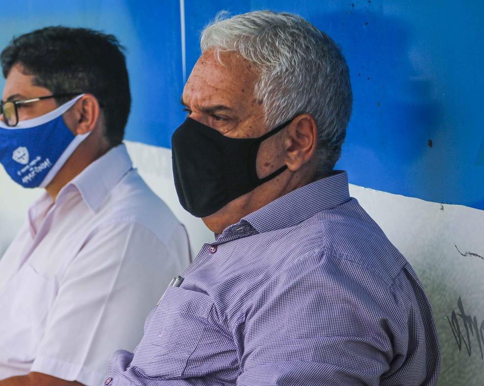 Presidente do Paysandu fez críticas a má atuação do time - Foto: Jorge Luiz/Paysandu