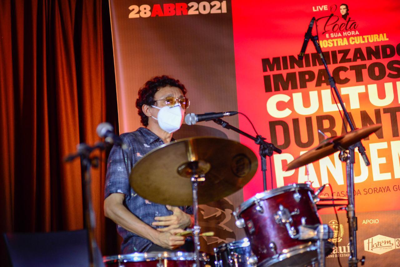Artistas piauienses fazem segunda live cultural nesta quarta (5) - Imagem 1