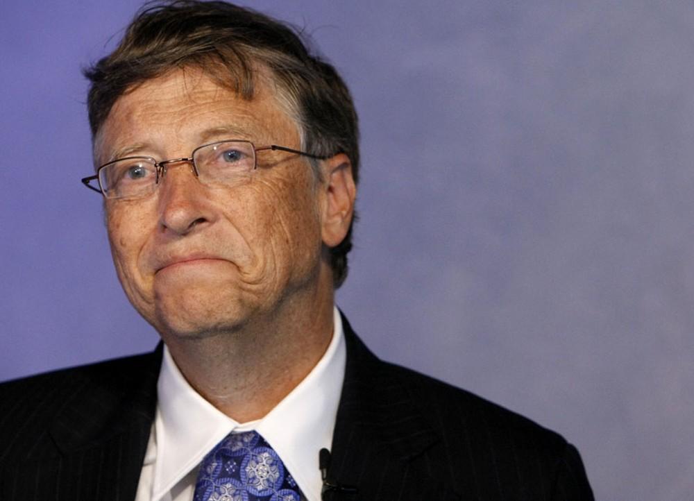 Bill Gates G20 — Foto: Remy de la Mauviniere/AP
