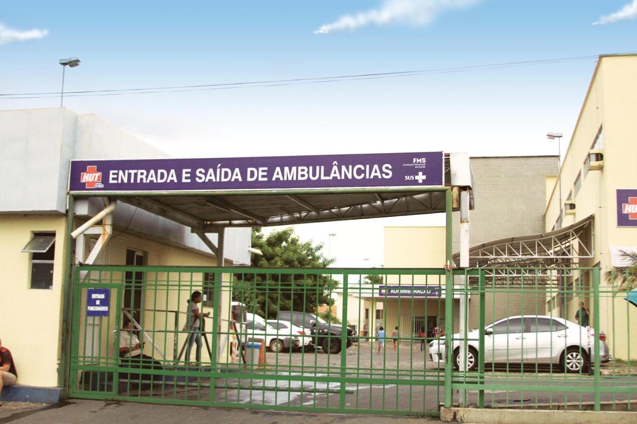 Hospital de Urgências de Teresina (HUT). Crédito: Raíssa Morais.