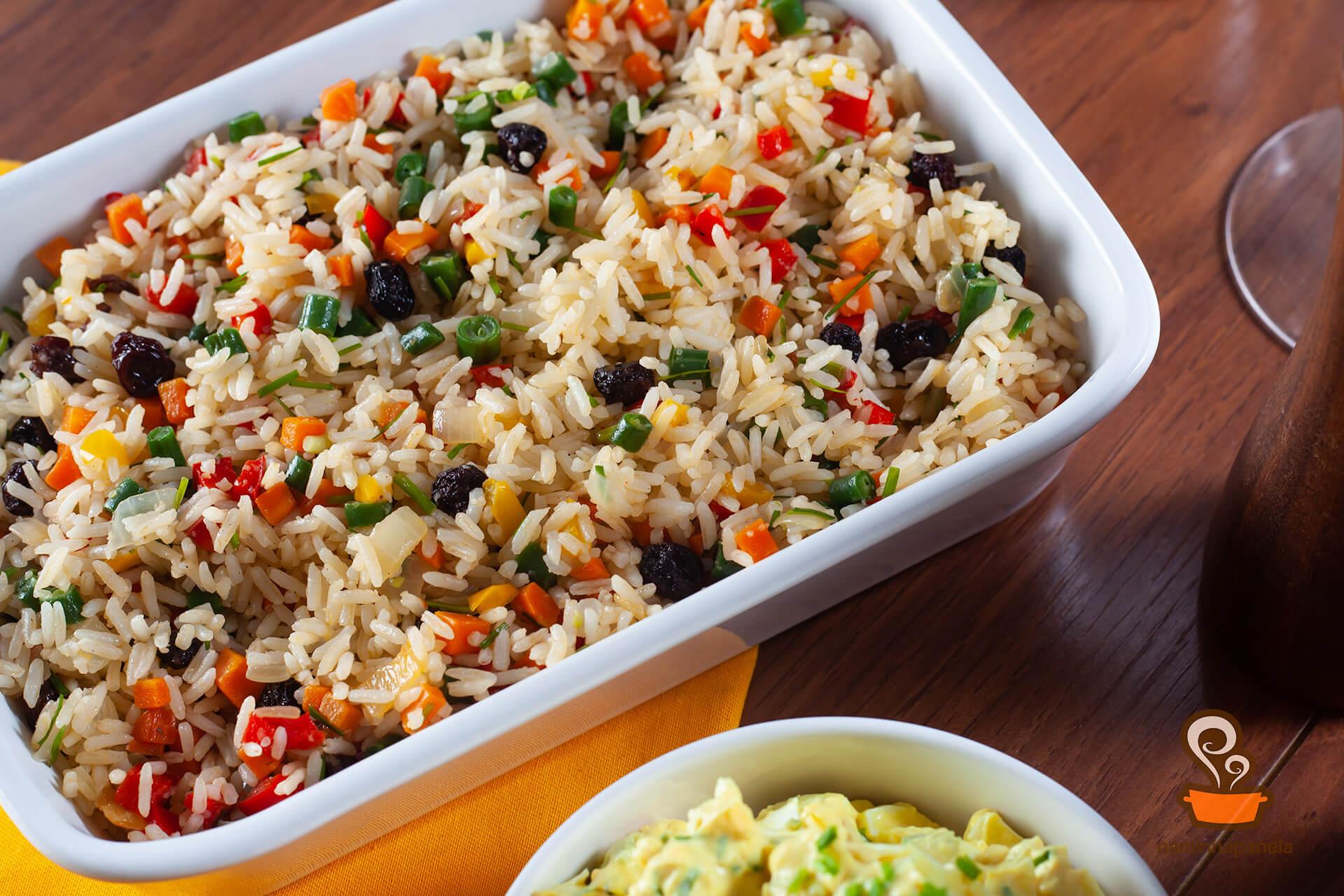 arroz a grega para começar bem a semana, aprenda a fazer